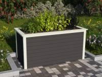 Karibu Hochbeet 2 terragrau 19 mm