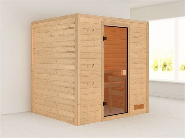 Karibu Woodfeeling Sauna Adelina 38 mm