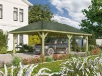 Karibu 4-Eck Pavillon Classic Holm 2 kdi