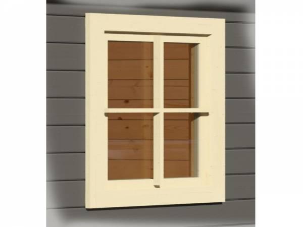 Karibu Fenster für 38 mm elfenbeinweiß Dreh- / Kippfenster