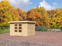 Karibu Aktions-Gartenhaus Jever 4 natur 19 mm