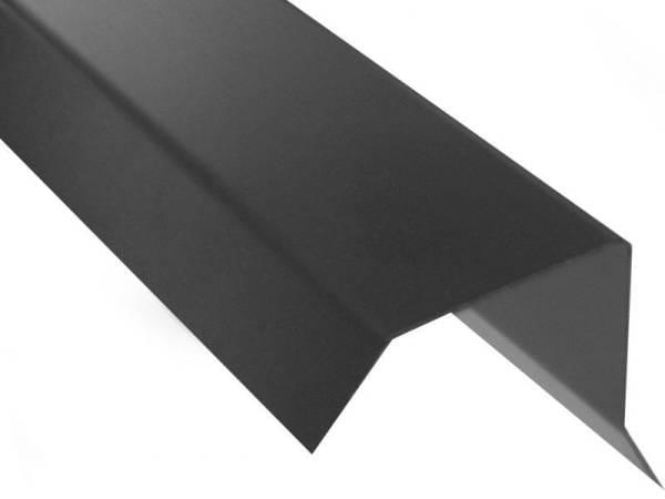 Blendenabdeckung Flachdach Typ 1b - bis 30 mm Blendendicke - 10 Stück