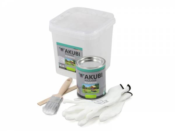 Akubi Farbe Apfelgrün 750 ml