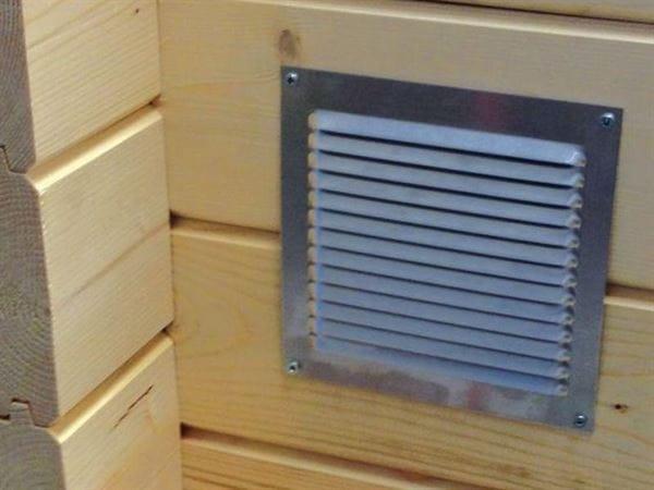 Aluminium Lüftungsgitter mit Insektenschutz