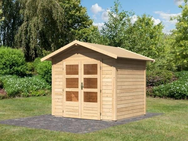 Karibu Woodfeeling Gartenhaus Talkau 3