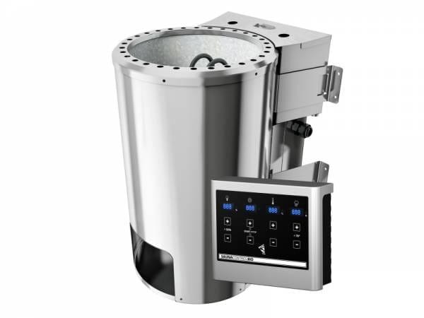 Karibu Bioofen Plug & Play 3,6 kW externe Steuerung steckerfertig