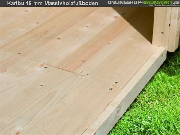 Fußboden Sockelmaß 370 x 340 cm