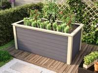 Karibu Hochbeet 2 terragrau 28 mm