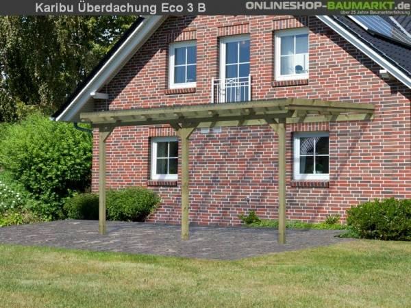 Karibu Terrassenüberdachung ECO Modell 3 Größe B