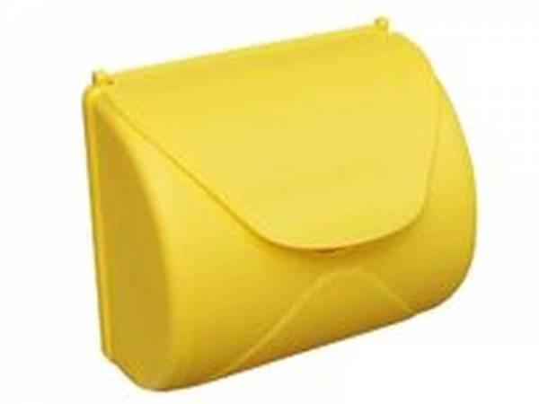 Akubi Briefkasten Kunststoff gelb