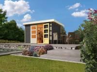 Karibu Gartenhaus Askola 4 terragrau