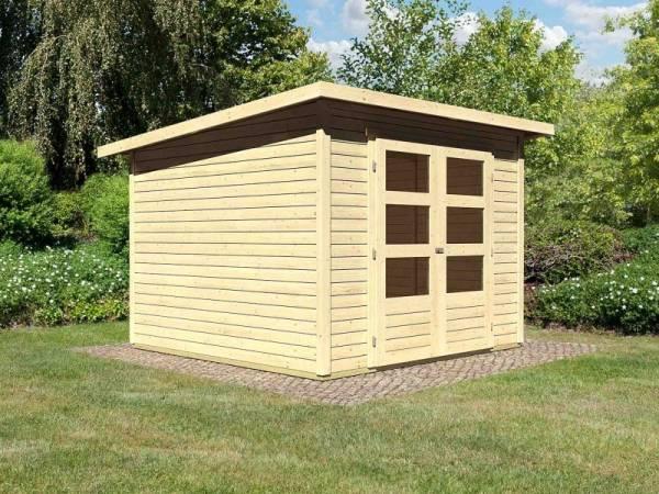 Karibu Woodfeeling Gartenhaus Stockach 4