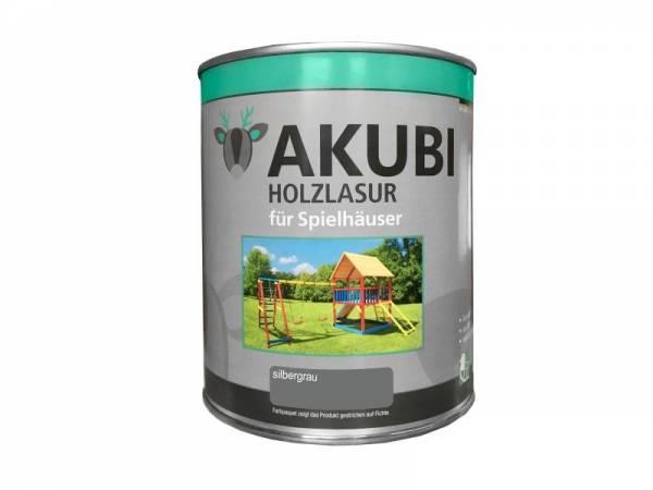 Akubi Farbe Silbergrau 750 ml