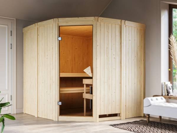 Simara 1 - Karibu Sauna ohne Ofen - ohne Fenster -