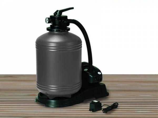 Karibu Filterpaket Sandfilteranlage für Pools 6,5 cbm
