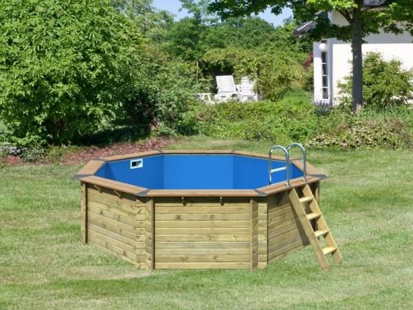 Karibu Premium Pool Modell 2 im Sparset Komfort