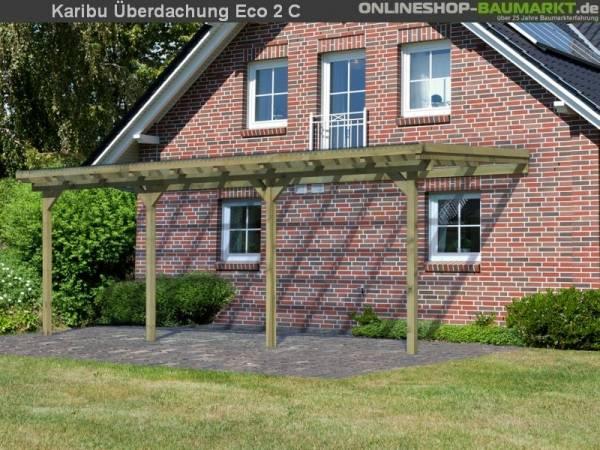 Karibu Terrassenüberdachung ECO Modell 2 Größe C