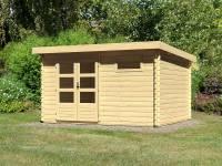 Karibu Woodfeeling Gartenhaus Bastrup 8